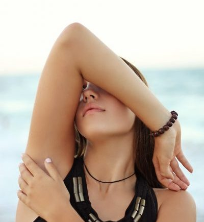 how to lighten dark underarm