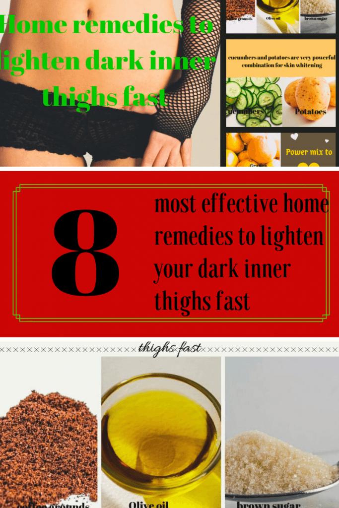 Home remedies to lighten your dark inner thighs