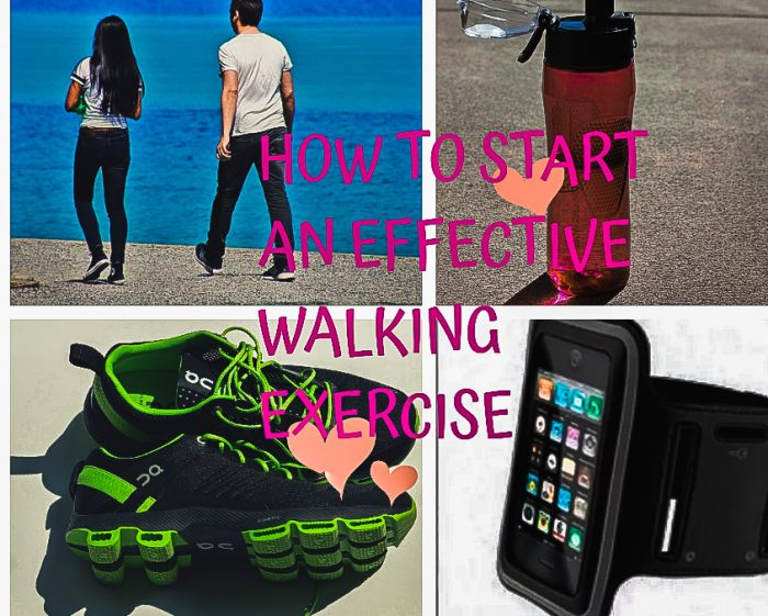 How to Start an Effective Walking Exercise to Lose Weight