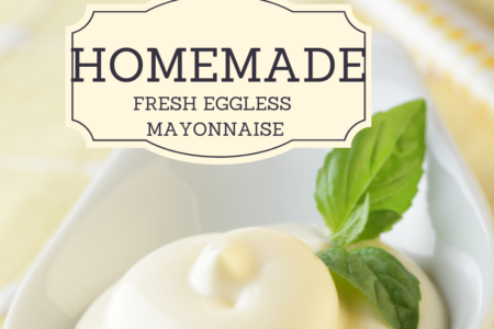 How to Make a Tasty, Eggless Mayonnaise.