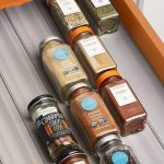 Kitchen Spice Organisation Ideas.