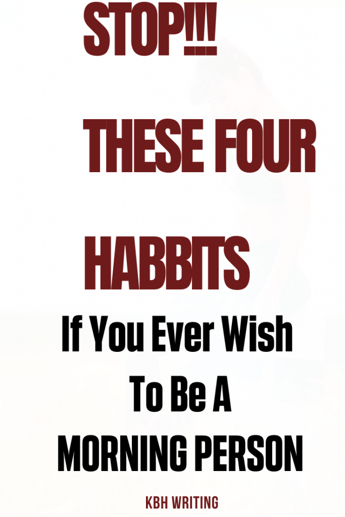 Top 4 Habits That are Sabotaging Your Morning Productivity