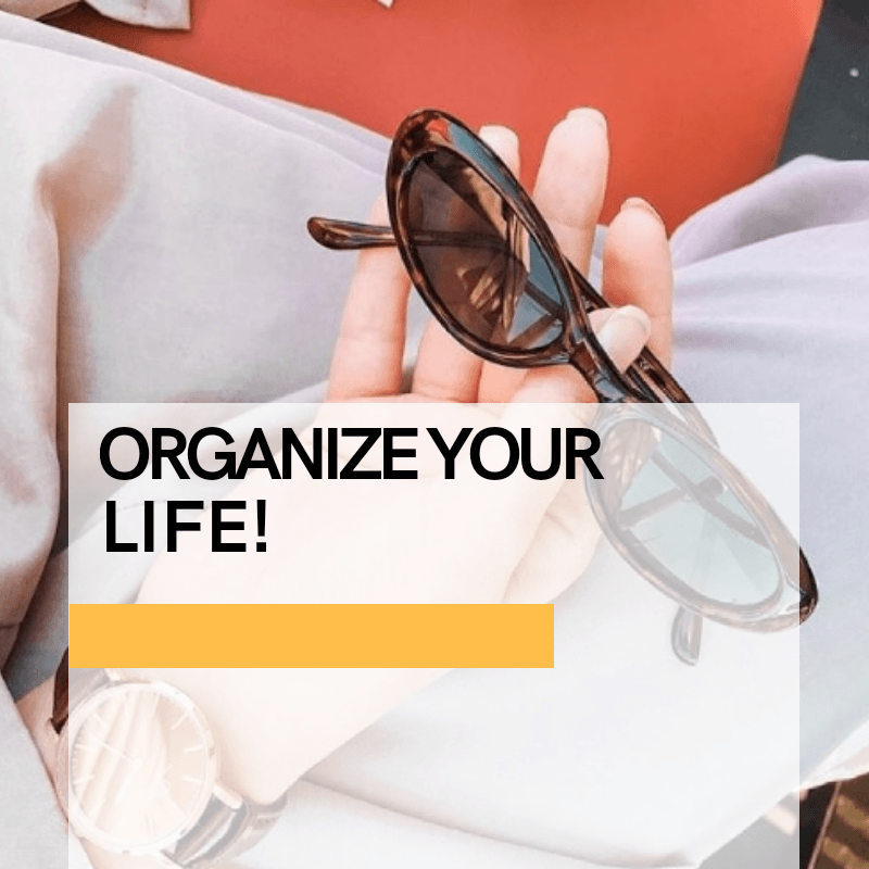 101 Ways to Get Seriously Organized ( More Eco-friendly and Sustainable)