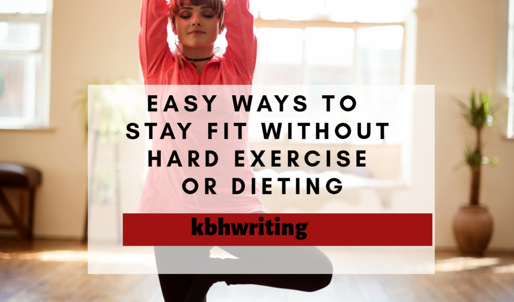how to lose weight without exercise or diet