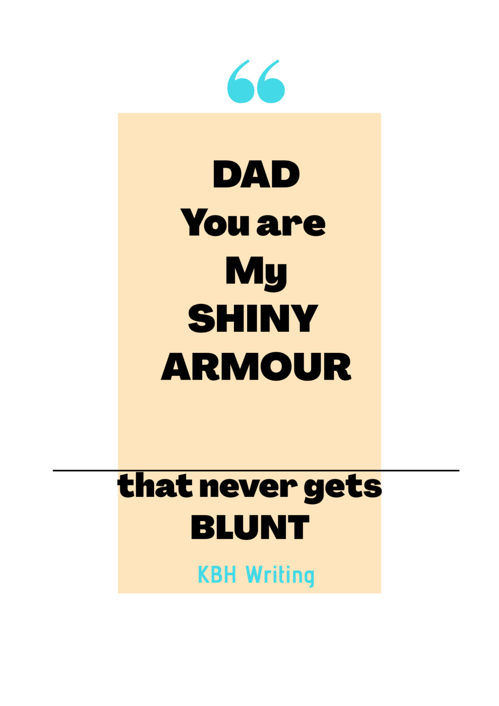 5 Father's Day Quotes From Daughter