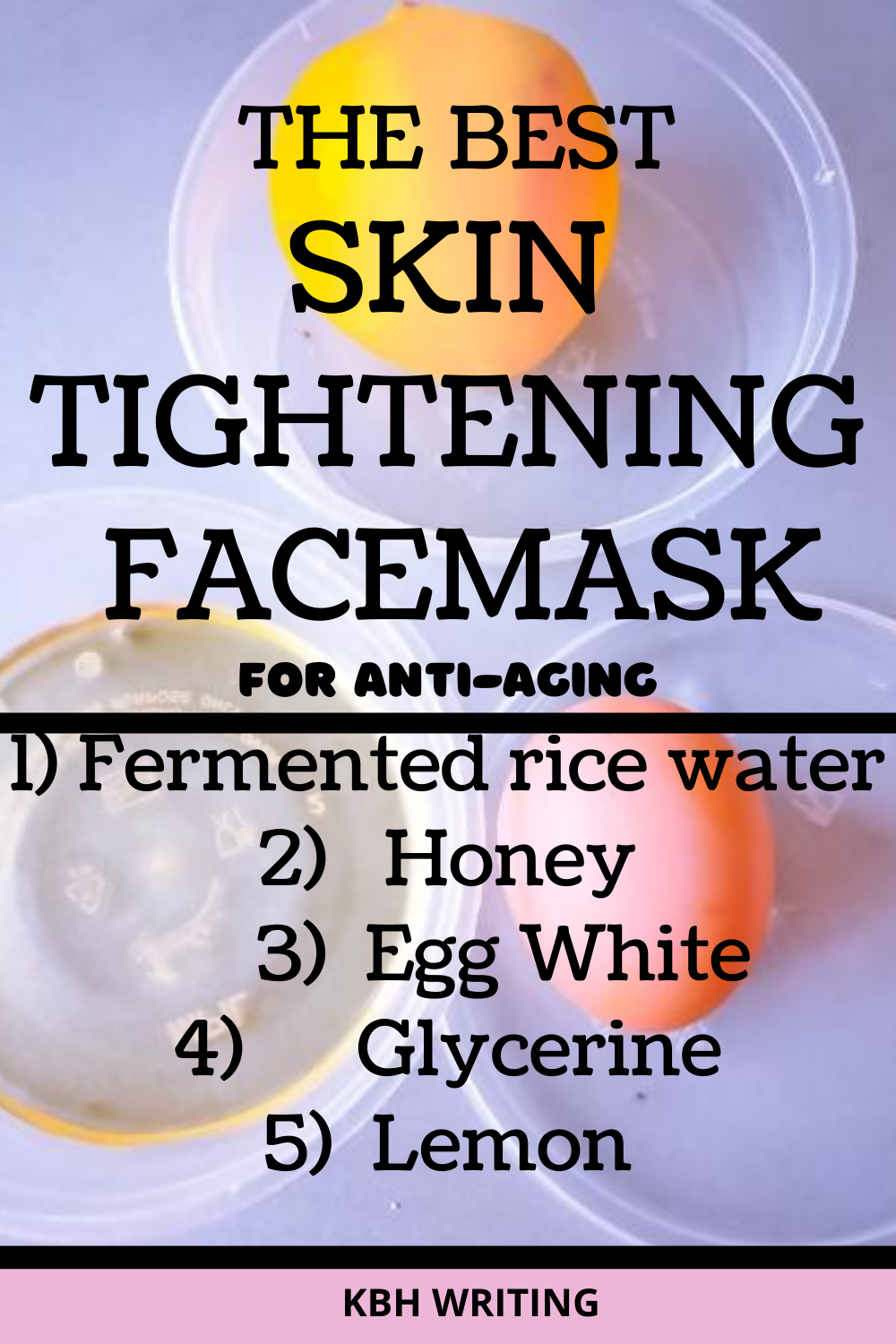 How to Use Rice Water For Skin Tightening and Whitening