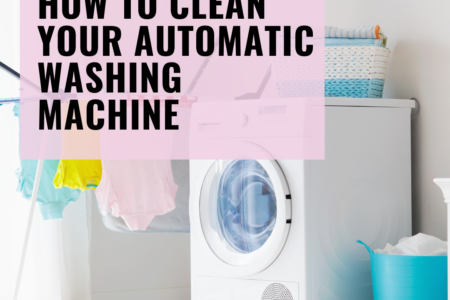 How to Clean Your Automatic Washing Machine