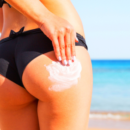 How to Bleach Your Buttocks at Home